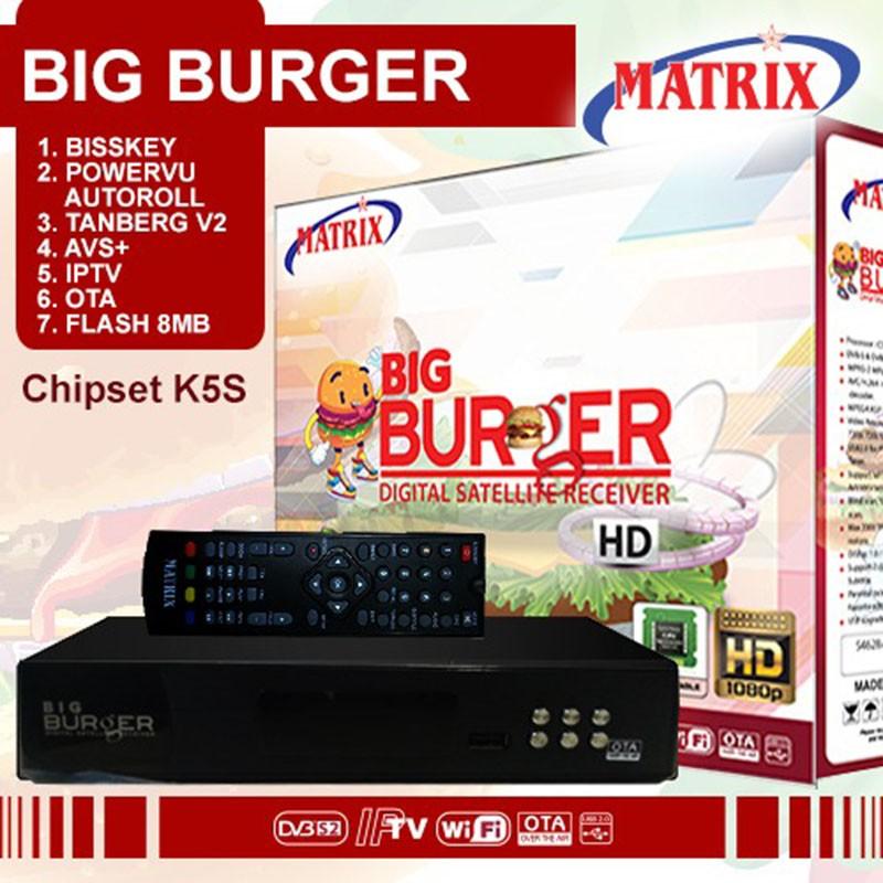 Receiver Matrix Parabola Big Burger MPEG4 HD