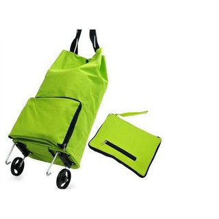 Travelmate Tas Belanja Lipat Roda Serbaguna Shopping Trolly Troly Traveling Bag