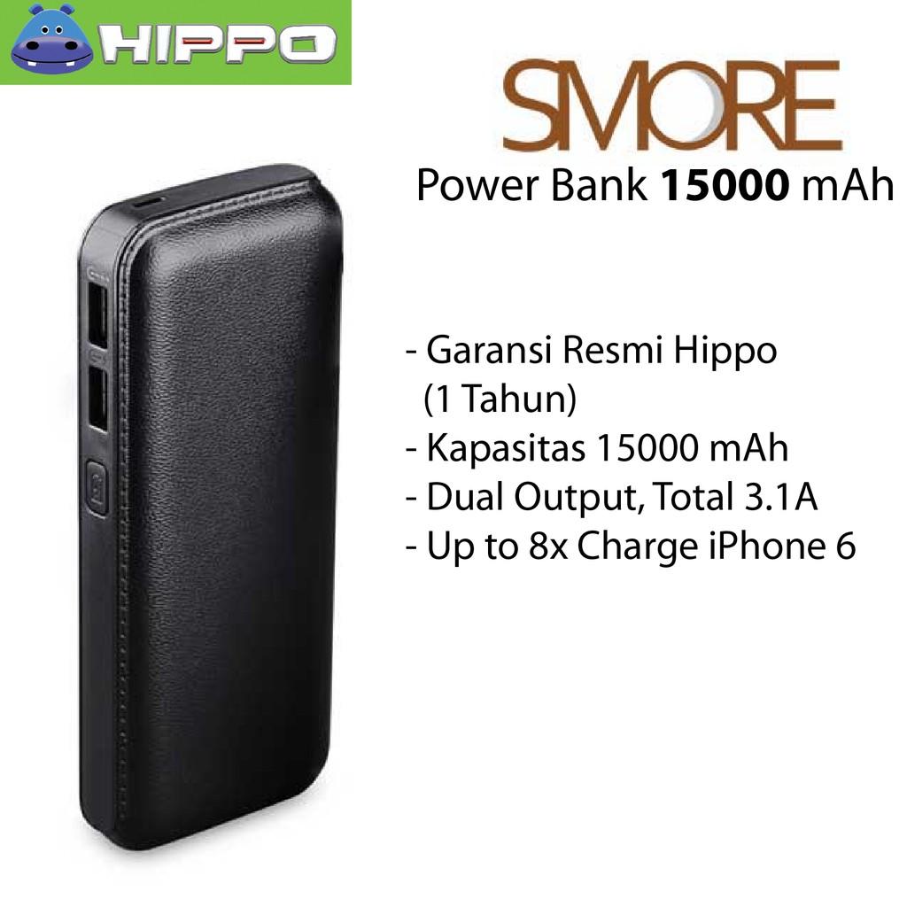 Hippo Power Bank Luna 9000mah Simple Pack Shopee Indonesia Titan 1 6000 Mah