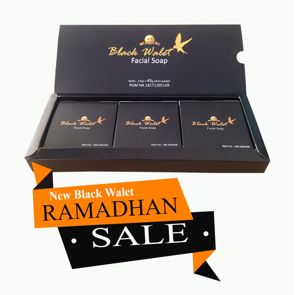 Sabun Black Walet Facial Soap Deena Asli Original Perawatan Wajah Hitam Bpom Shop Herbal Mui Shopee Indonesia