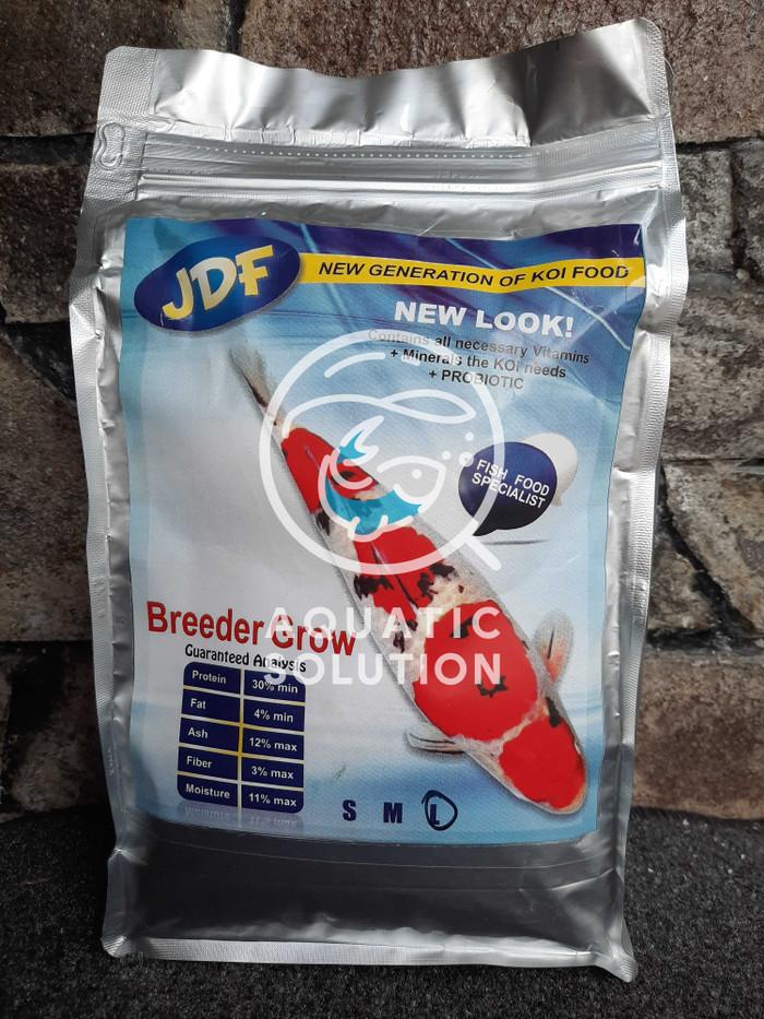 Jual N1 Pelet Makanan Ikan Koi JDF Breeder Grow New Look 1kg ( size L ) Terbatas
