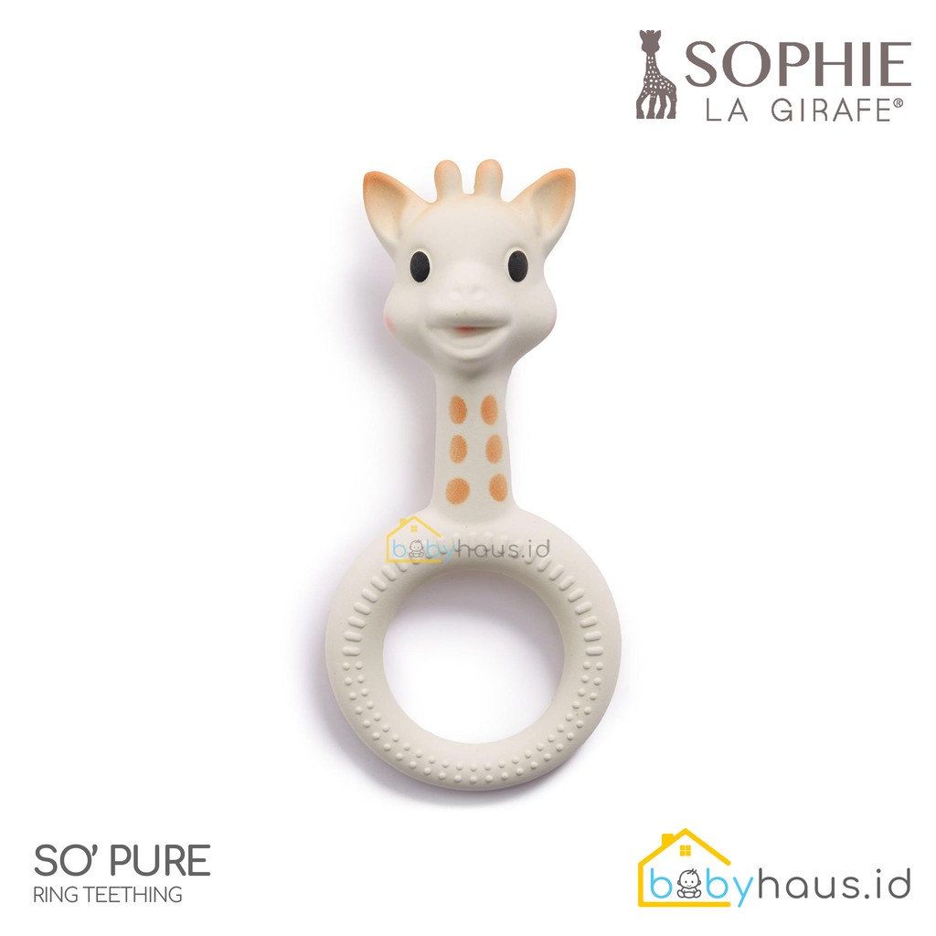 SOPHIE THE GIRAFFE - SO PURE 3D HEAD RING TEETHER