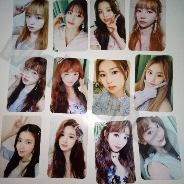 Iz*one Izone Secret Time Photocard Kpop
