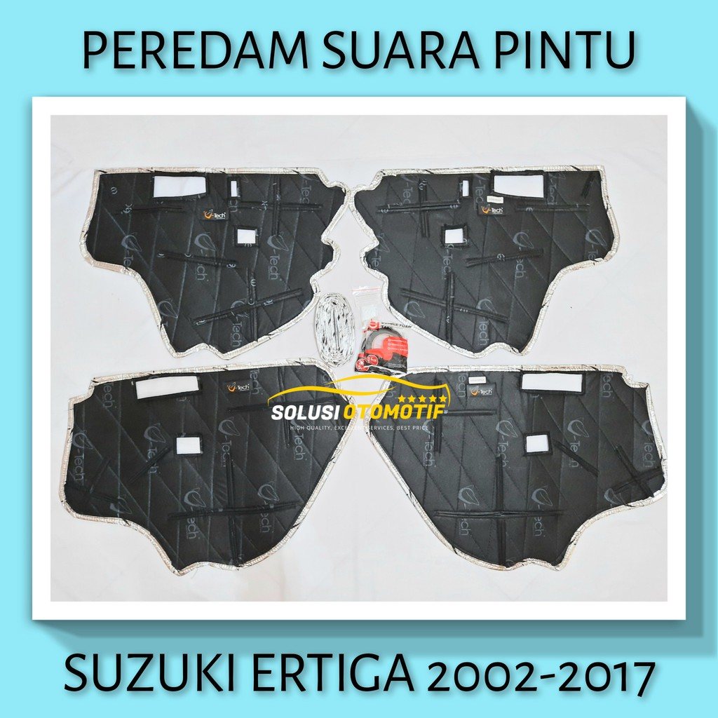 SUZUKI ERTIGA 2002-2017 Peredam Suara Pintu Aksesoris Mobil VTECH Ori PnP + Peredam Noise Speaker