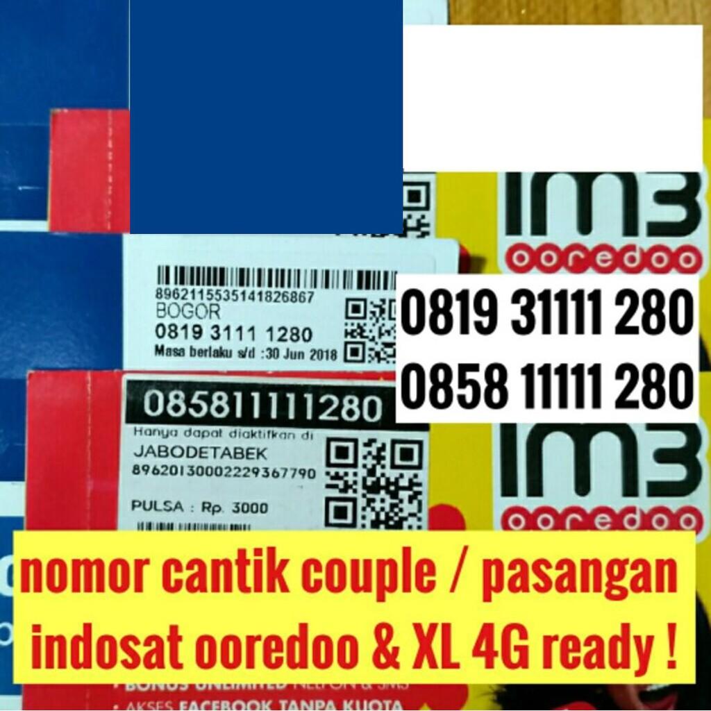 nomer cantik nomor cantik XL 4G ready kartu perdana rapih obral axiata   Shopee Indonesia