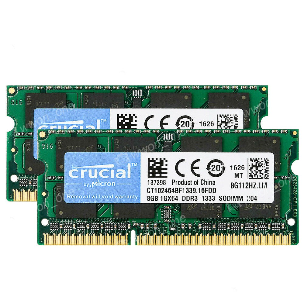 Mircon 2GB 1RX8 PC3-10600S DDR3 1333mhz CL9 for Apple MacBook Pro iMac Mac MINI