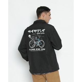 Erigo Coach Jacket Fujima Black