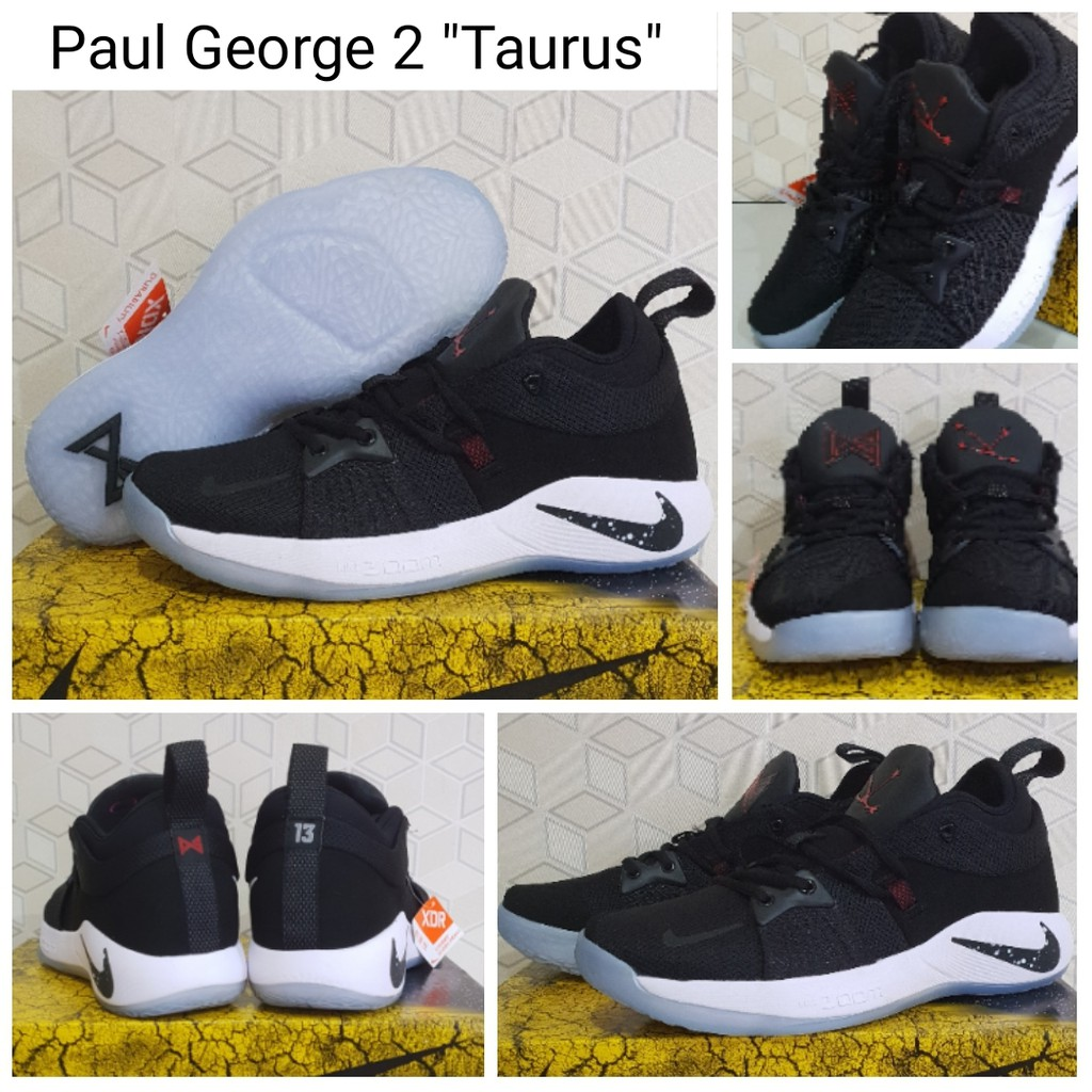 23f9a928e33 Sepatu Basket Paul George 1 (PG1) Black Ice