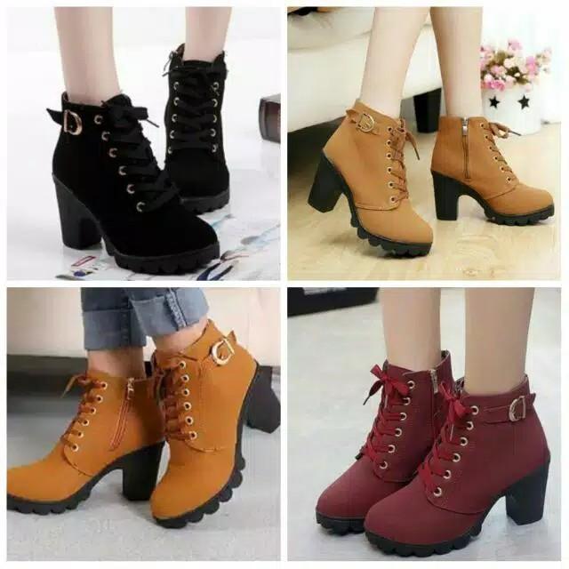 Sepatu Boots Untuk Wanita Agar Tampil Percaya Diri