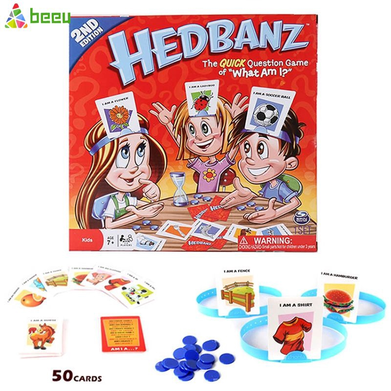 Cod Brand New Traditional Classic Family Board Games What Am I Game Dice Game Kids Toy Beeu Shopee Indonesia