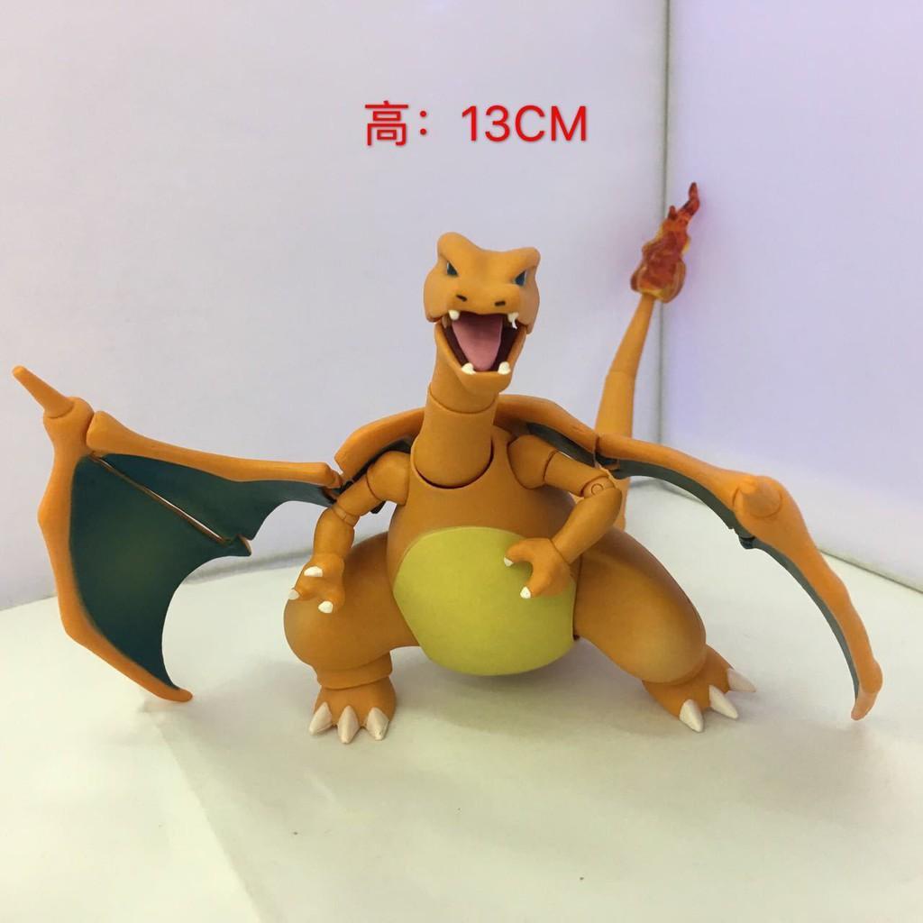 Anime Pokemon GO Charizard PVC Figure Toy Gift New No Box 15cm