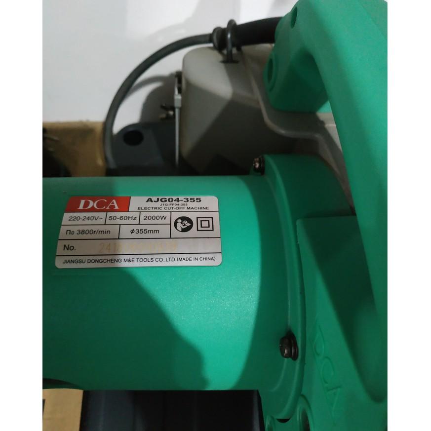 120120 Ren Dca Mesin Potong Besi Cutting Cut Off Ajg04 355 Ajg 04 355 14 14 In Diskon Shopee Indonesia