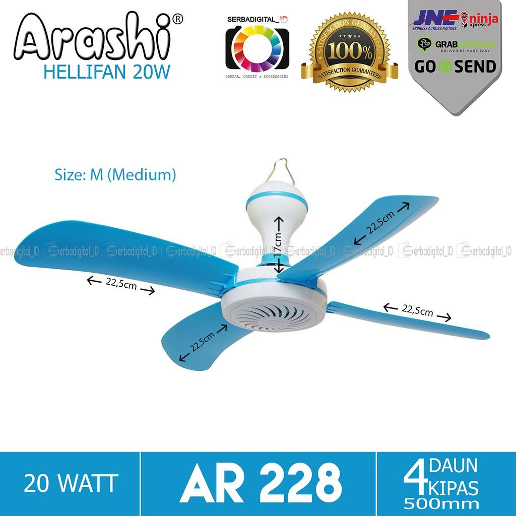 Arashi Helifan 20w Medium Kipas Angin Gantung Original Promosih Miyoshi 2in1 Duduk Dan Dinding  Ekonomis Kualitas Mantap Murah Shopee Indonesia