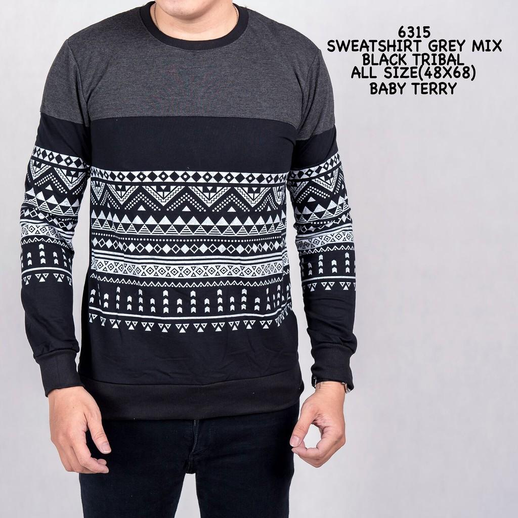 Sweater O Neck Lengan Panjang Bahan Katun Campuran Warna Hitam Hijau 1209 Kemeja Army Black Camo Untuk Pria Shopee Indonesia