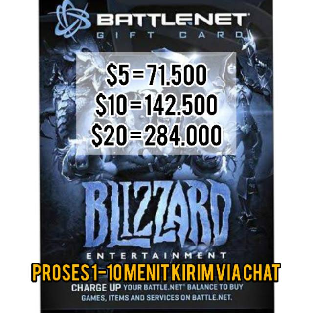 BATTLENET BALANCE CARD AMAZON