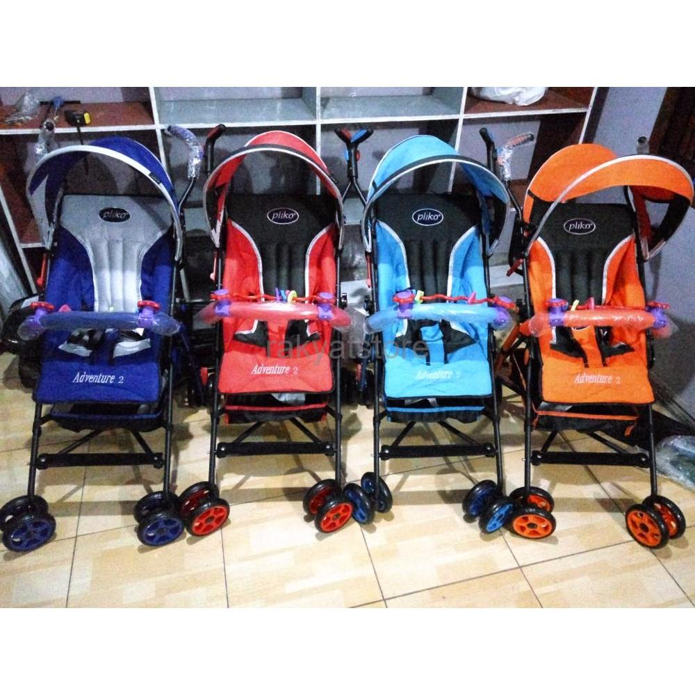Kereta Bayi Stroller Pliko Grande 268 Stoller Stoler Stroler Khusus Gojek Dorong Boston Bekasi Baby New Born Sampai Shopee Indonesia