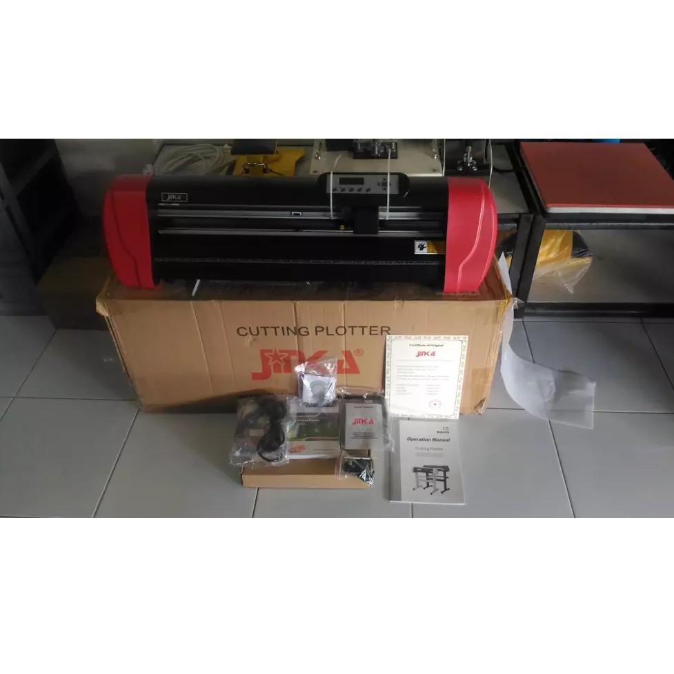 Mesin Cutting Sticker Jinka 1351 Shopee Indonesia Roller Penjepit