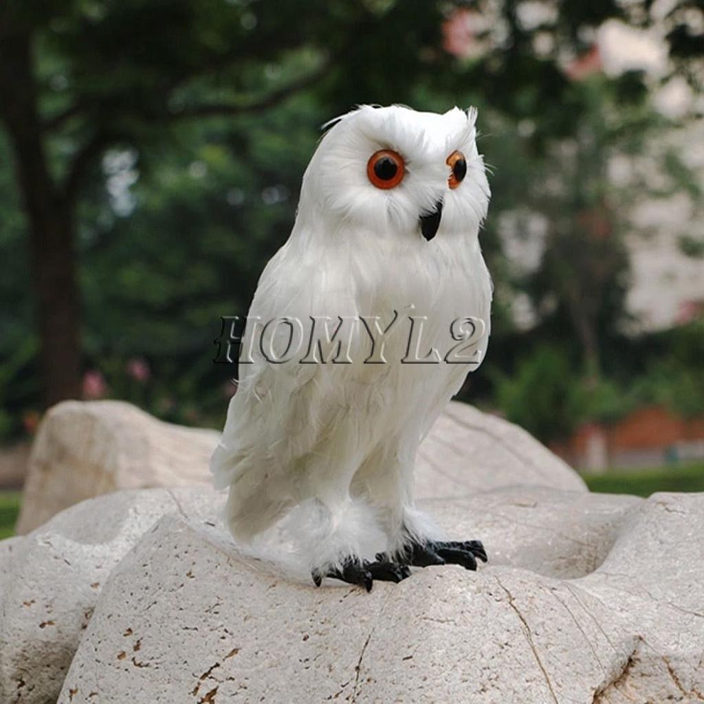 Burung Hantu Burung Hantu Untuk Dekorasi Halloween Warna Putih Shopee Indonesia