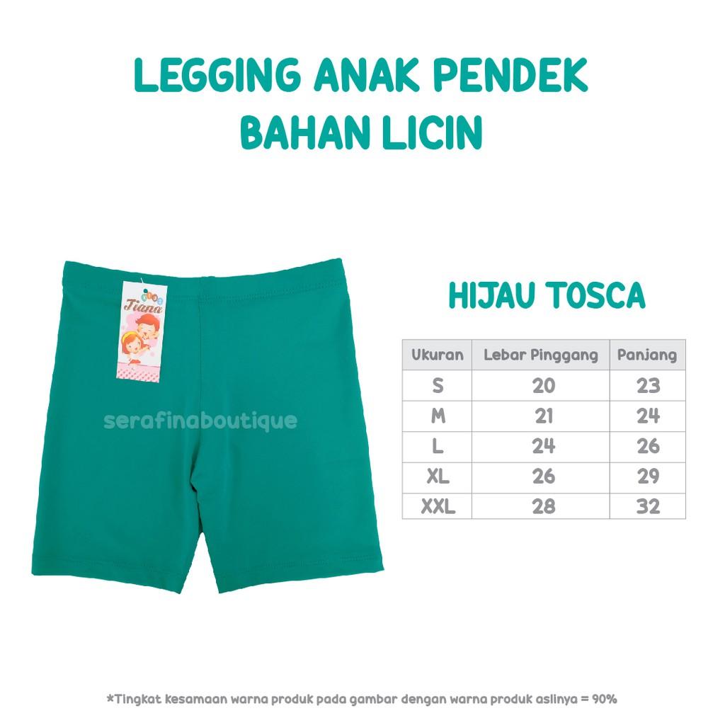 Legging Pendek Bahan Licin Size S Leging Anak Celana Pants Shopee Indonesia