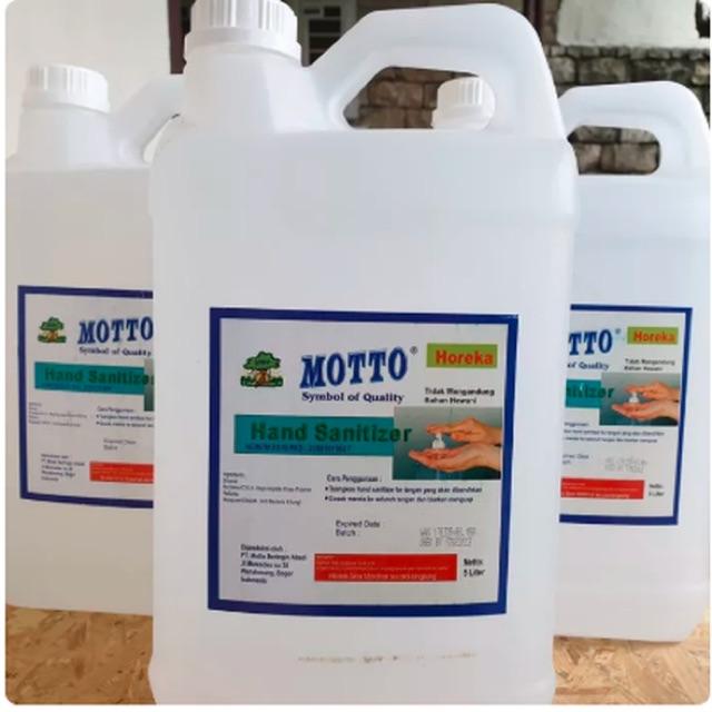 Hand Sanitizer Motto Gel 5 Liter Ready | Hand Sanitizer 5Liter