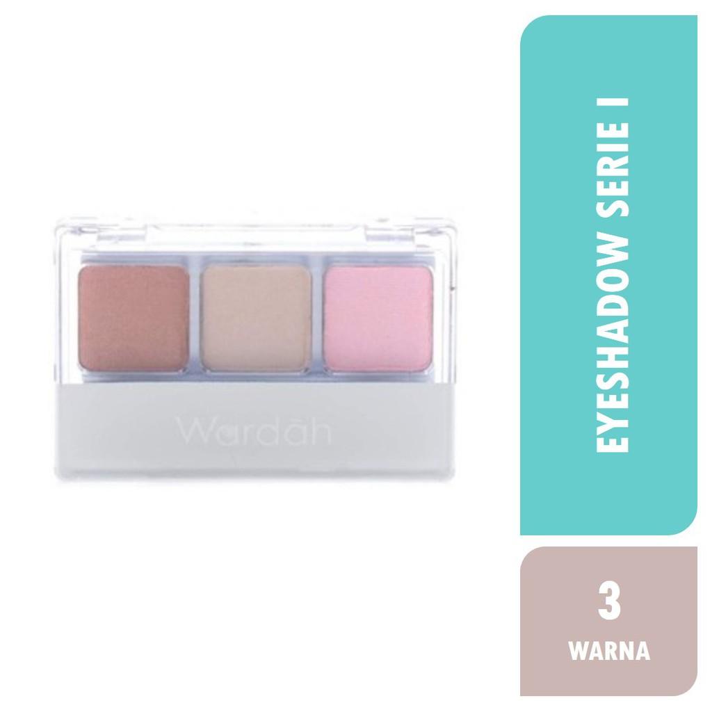 [Terlaris] Wardah Eyeshadow Serie I | Shopee Indonesia