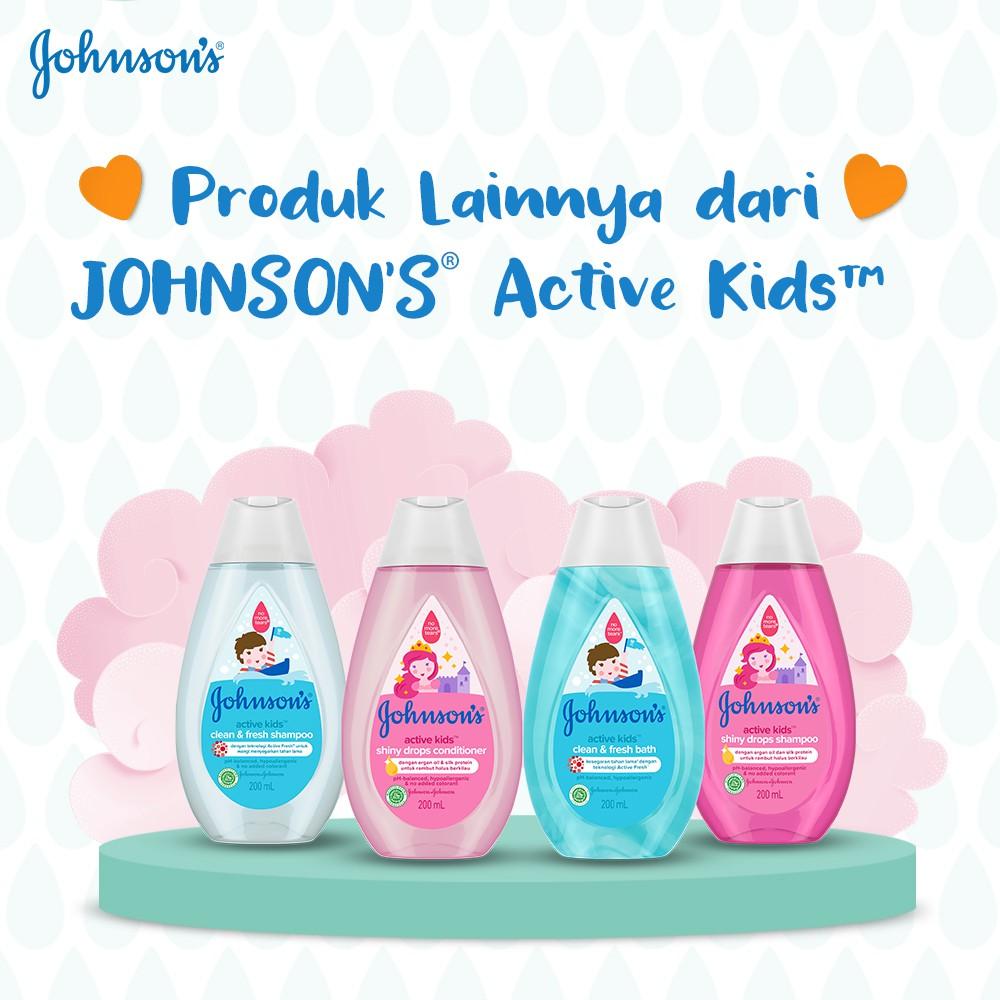 JOHNSON'S Active Kids Soft & Smooth Shampoo - Shampo Anak-anak 200ml-4