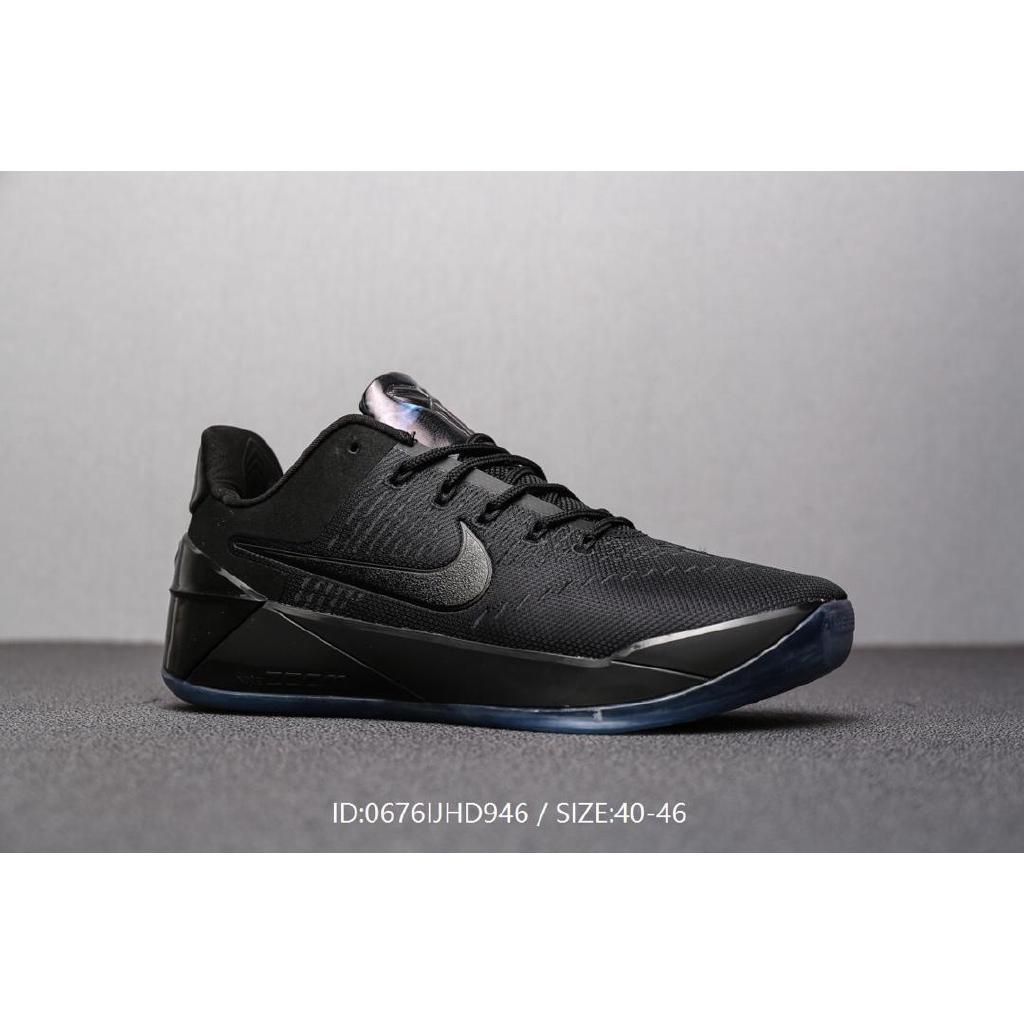 Sepatu Sneakers Olahraga Pria Model Nike Zoom Kobe A D Ep Ad Warna Hitam Shopee Indonesia