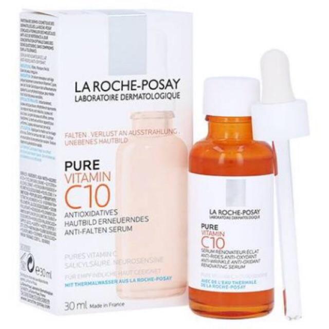 La Roche Posay Pure Vitamin C10 Serum 30 Ml France Shopee Indonesia