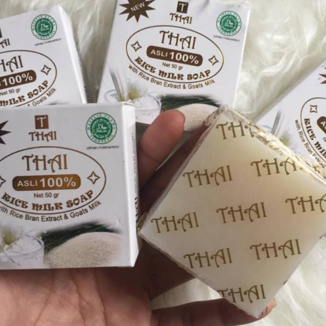 Sabun Beras Thailand Asli Bpom Shopee Indonesia