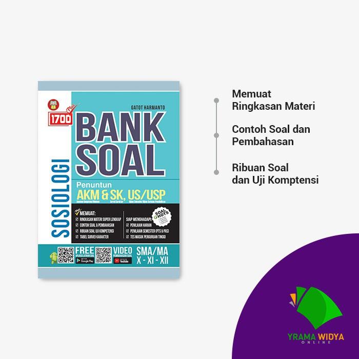 Yrama Widya Buku 1700 Plus Bank Soal Sosiologi Sma Ma Untuk Kelas X Xi Xii Shopee Indonesia