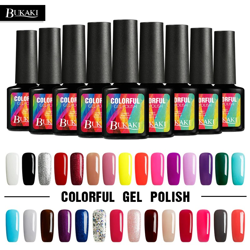 Bukaki 29 Colors Gel Polish Glitter Uv Semi Permanent Nail Gel Varnish Soak Off Manicure Diy Gel Shopee Indonesia 45 adet/paket için karışık çiçekler nail art su çıkartmaları transferi etiketler diy renkli karikatür güzellik nail i̇puçları sticker süslemeleri şartname: bukaki 29 colors gel polish glitter uv semi permanent nail gel varnish soak off manicure diy gel