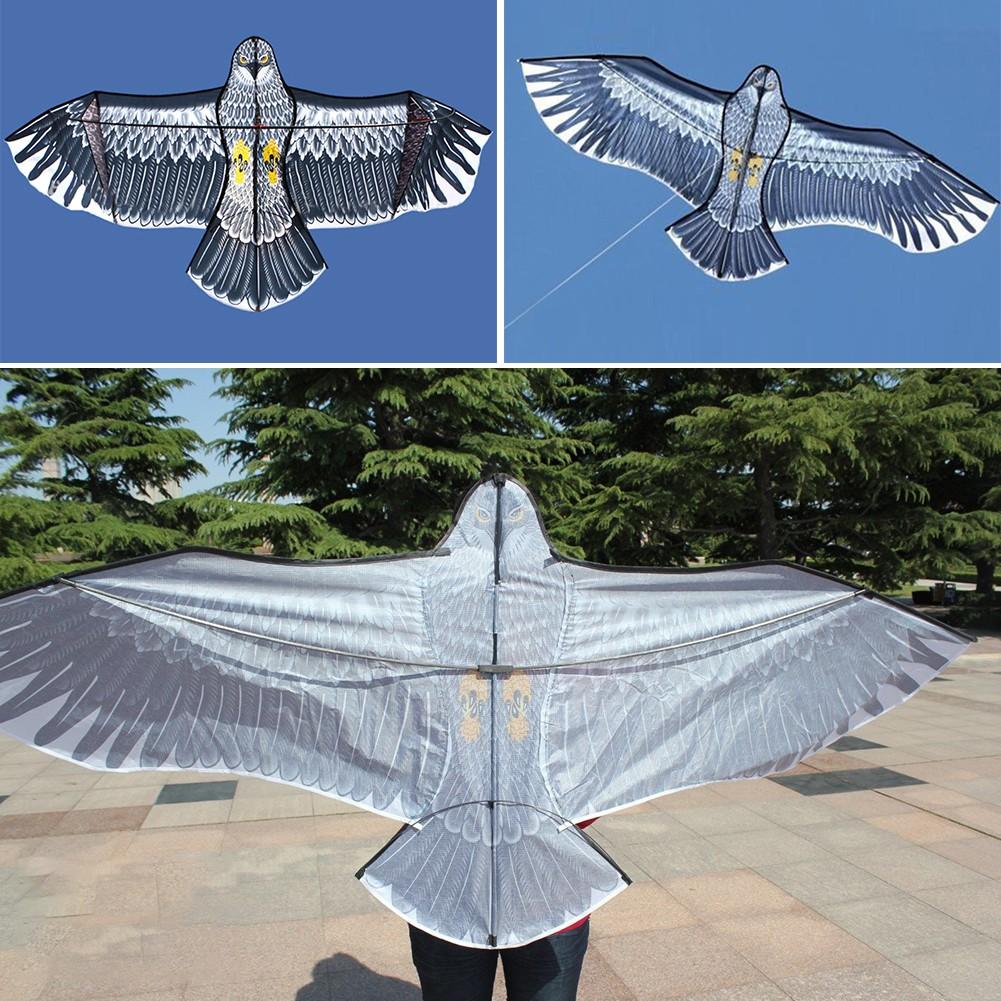 Layang Layang Bentuk Burung Elang Besar Dengan Tali Tunggal Untuk Outdoor Liburan Shopee Indonesia