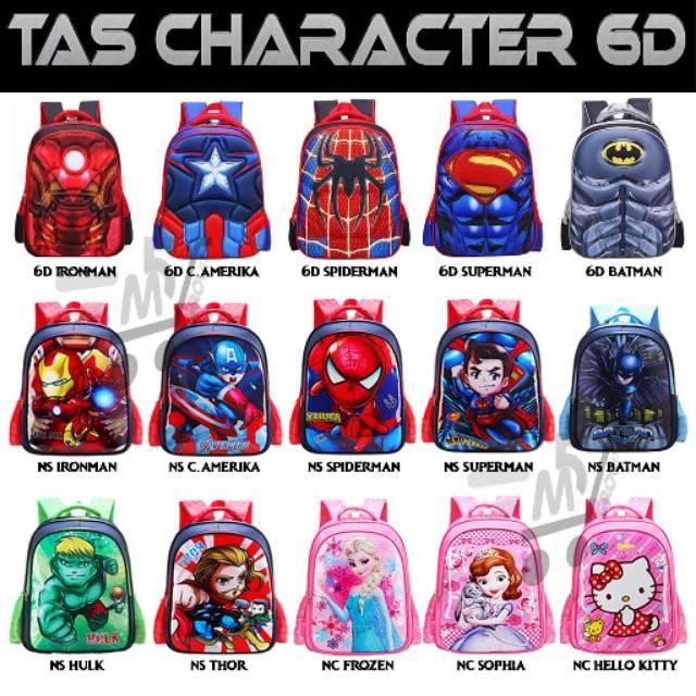 Metromart Tas Anak Sekolah Ransel Superhero 6d SPIDERMAN 51aa8151c3