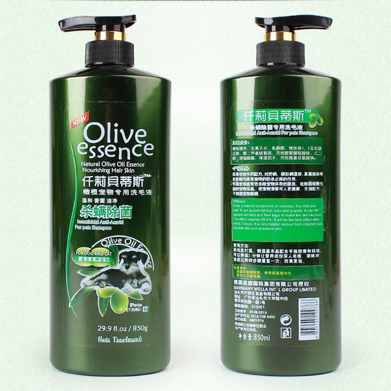 Shampoo Olive 450ml all varian Untuk Anjing dan Kucing-Dog&Cat No7 850ml