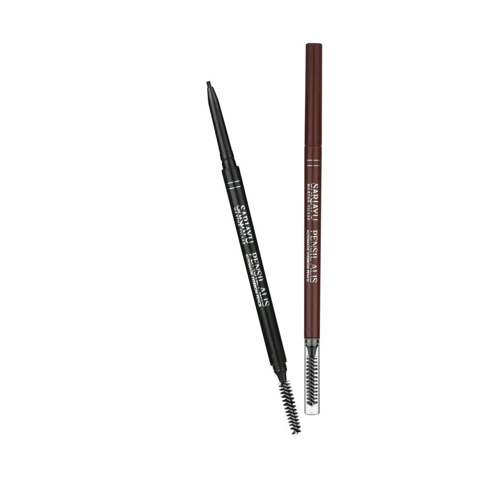 Quick Easy Eyebrow Waterproof Brown Mustika Ratu Beauty Queen Viva Pencil Pensil Alis 100 Original Matic Warna Coklat Shopee Indonesia