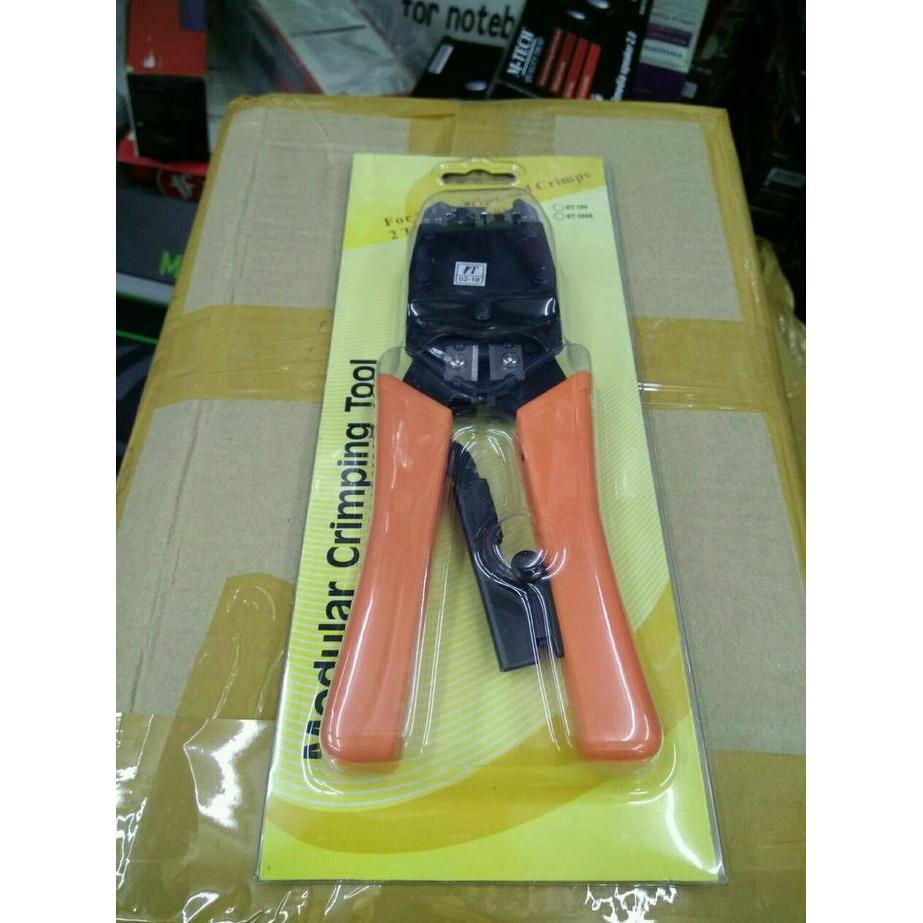 Stok Terbatas Crimping Tool Bagus Rj45 Rj11 Tang Krimping Tools Rj Trendnet Tc Ct68 Double Pemotong Pengupas Kabel 45 Ht 500r Promo Murah Shopee Indonesia