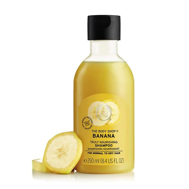 The Body Shop Banana Truly Nourishing Shampoo 250ml-1