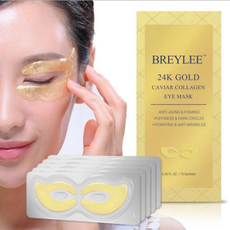 Masker Mata Kolagen Emas 24K untuk Menghilangkan Kerutan dan Lingkaran Hitam thumbnail