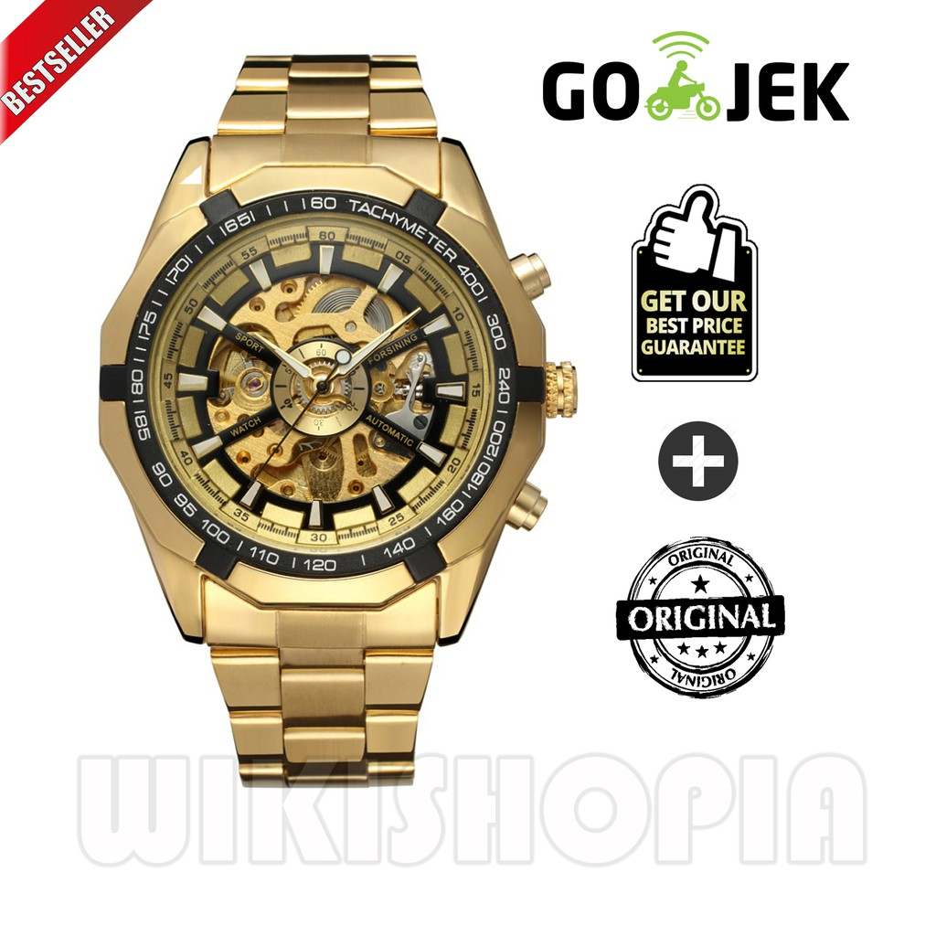 Jam Tangan Pria Expedition E 6656 Ma Automatic Limited Edition Tanga 6631 Hitam Triple Time Original Shopee Indonesia