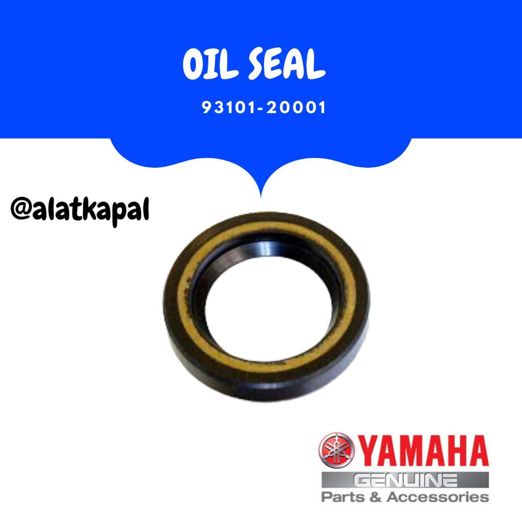 OIL SEAL 93101-20001 UNTUK MESIN TEMPEL YAMAHA 15PK