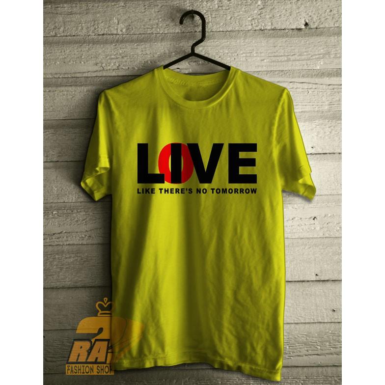 ra kaos quote love live shopee