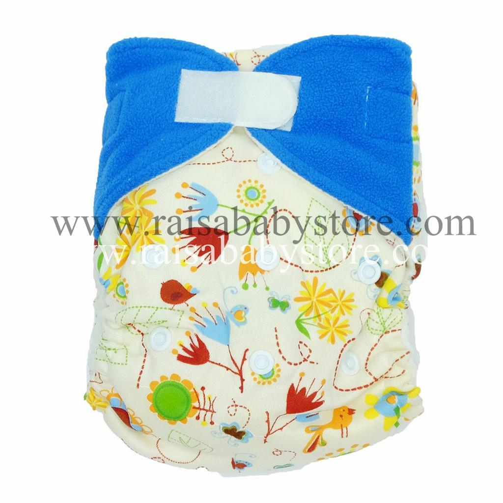Pem Full Motif Microfiber Permen Clodi Popok Bayi Type Pocket Kain Babyland Snap Cloth Diaper Pink Tree Dengan 1 Insert Shopee Indonesia