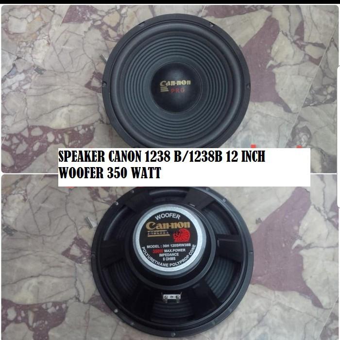 SPEAKER  CANON 1238 B/1238B 12 INCH WOOFER 350 WATT