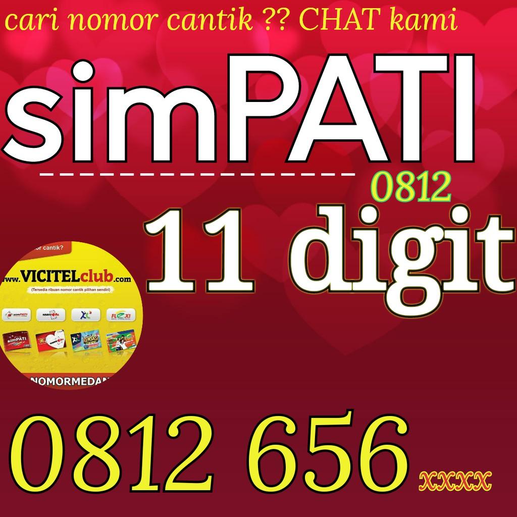 0812 656 6800 NOMOR CANTIK SIMPATI 11 DIGIT VICITEL 0812 6566800 | Shopee Indonesia
