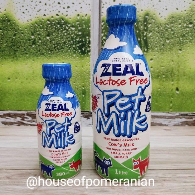 Zeal Pet Milk 1liter Lactose Free Susu Anjing Kucing Dog Cat Milk Shopee Indonesia