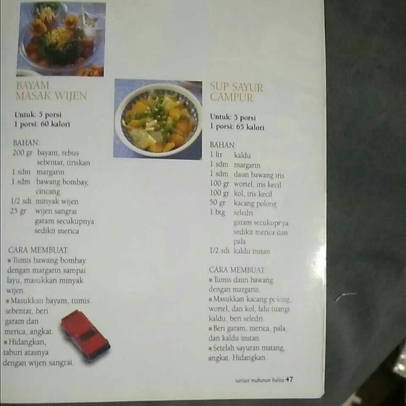 Buku Variasi Makanan Balita Agar Anak Sehat Shopee Indonesia