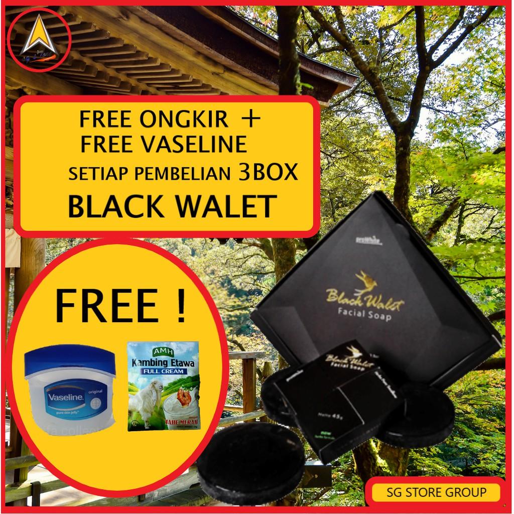 Sabun Facial Black Walet Original Bpom Shopee Indonesia Hitam Shop