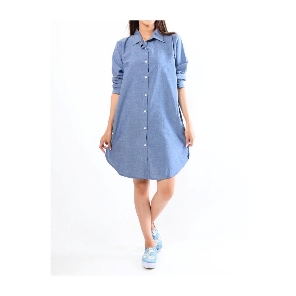 DRESS TUNIK ARUMI LONG SLEEVE | Shopee Indonesia