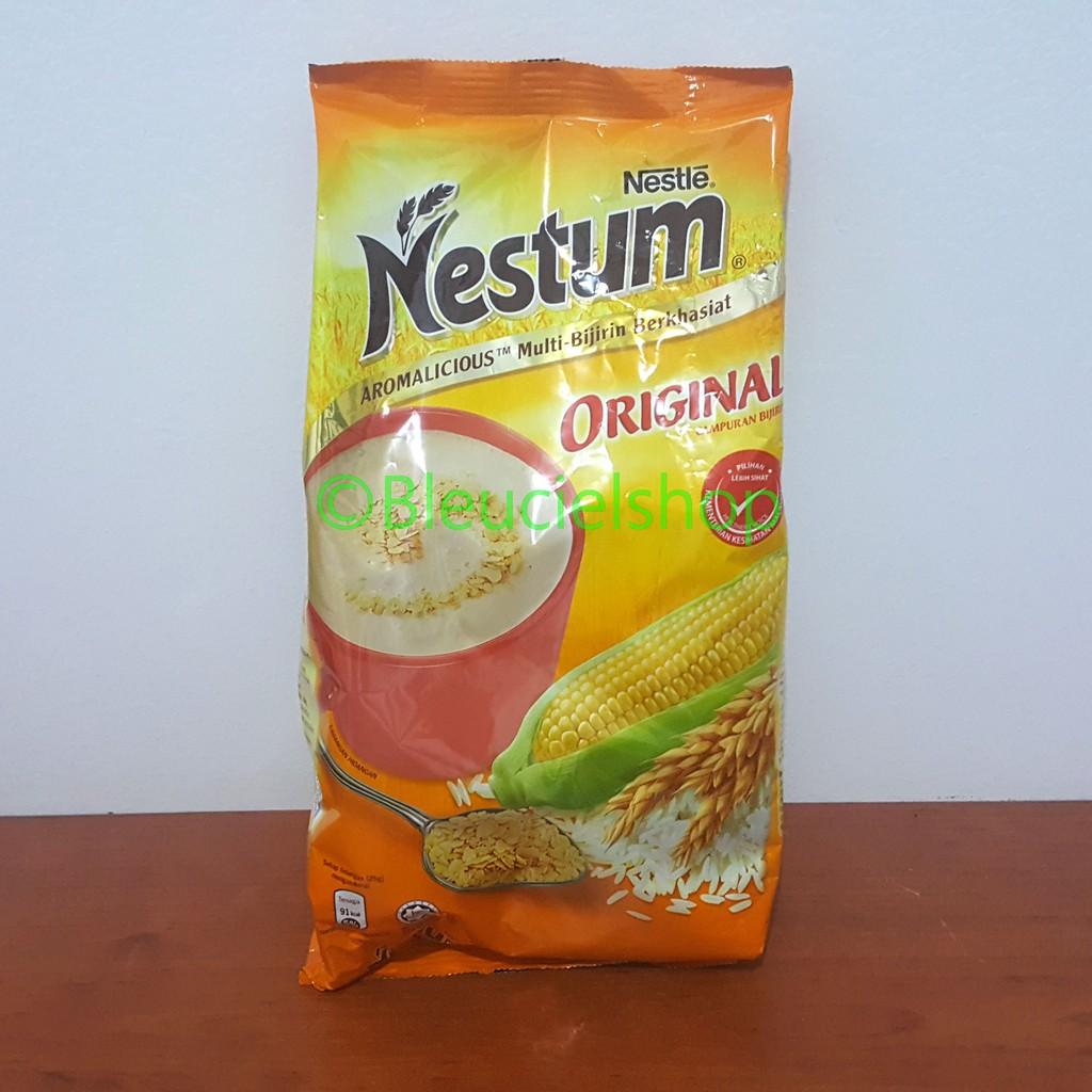 Nestum Bubur Sereal Multigrain Pouch 350gram Original Shopee Indonesia 3in1 Polybag 4 X 32g Susu Pisang