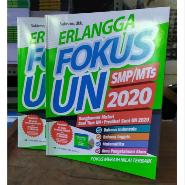 Erlangga Fokus Un Smp Mts 2020 Prediksi Soal Un 2020 Shopee Indonesia